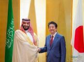 ولي العهد خلال لقائه رئيس الوزراء الياباني: اليابان دولة عزيزة على قلوب كل السعوديين