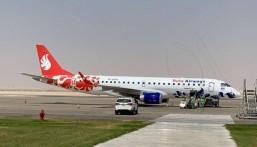 """هذا جدول رحلاتها … مطار الأحساء الدولي يبدأ أولى رحلاته لـ""""أذربيجان"""" (صور)"""