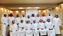 """نادي حي """"الإمام عاصم"""" يستضيف حفل المعايدة للقيادات الكشفية في الأحساء"""