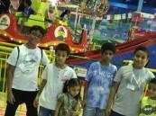"""""""رحلة ترفيهية"""" لأطفال نادي حي رؤية بالثانوية الأولى في المبرز"""