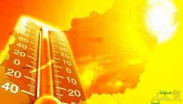 """بحسب """"الأرصاد"""" .. """"الأحساء """" تُسجّل أعلى درجات الحرارة اليوم الإثنين (صورة)"""