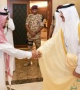 """بالصور.. الأمير """"سعود بن نايف"""" يستقبل المحافظين والوكلاء والمدراء المكلفين بالشرقية"""