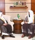 سمو أمير المنطقة الشرقية يستقبل رئيس المحكمة العامة بالأحساء