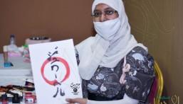 """سعودية أم يابانية!؟ … لماذا جذبت هذه الفتاة أنظار الجميع في """"جيمنيشن ٢"""" بالأحساء !!"""