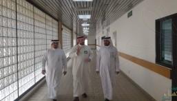رئيس قسم العلوم الاجتماعية في وزارة التعليم يتفقد الفصل الصيفي بثانوية الإمام النووي