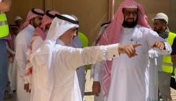 """بالصور… """"مساعد وزير التعليم"""" يتفقد """"مشاريع التعليم"""" بالأحساء"""