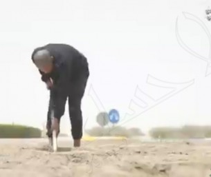 شاهد .. هكذا عاقبت شرطة أبوظبي شابًا بعد التفحيط بسيارته بطريقة متهورة!