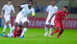 """بالصور .. """"الأخضر"""" يتعادل مع """"البحرين"""" سلبيًا"""