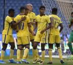 """""""النصر"""" يدافع عن لقبه ويفوز على ضمك بهدفين ضمن دوري كأس الأمير محمد بن سلمان"""