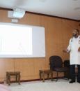 دورة تدريبية عن السكري في مستشفى الجفر العام