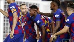10 أرقام من مباراة برشلونة ضد فالنسيا