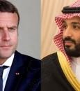 في اتصال هاتفي مع ولي العهد.. الرئيس الفرنسي يستنكر الهجوم الإرهابي على أرامكو