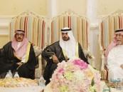 """""""العويدي"""" تحتفي بزفاف ابنها """"عبدالعزيز"""""""