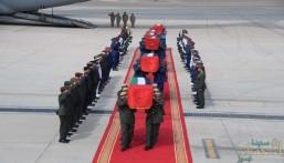 وصول جثامين شهداء الإمارات إلى أبوظبي