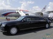"""صنعت خصيصا له .. تعرف على """"أوروس"""" سيارة بوتين التي رافقته في زيارته للمملكة"""