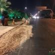 """بعد تضرر عشرات المركبات.. تحويلة جديدة في """"طريق الظهران""""."""