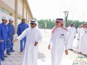 """بالصور .. """"آل الشيخ مبارك"""" يتفقد مرافق محطة ضخ المياه المجددة بالخبر"""