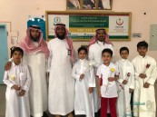 """طلاب ابتدائية """"عمار بن ياسر"""" ينظمون زيارة لمستشفى العفالق"""