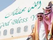 شاهد … خادم الحرمين الشريفين يصل إلى الرياض قادماً من جدة