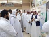"""""""الملحم"""" يفتتح المشروع الوطني عون في ثانوية الملك عبدالله لتعليم الكبار"""