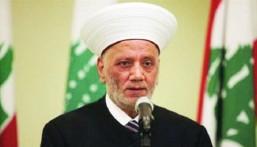 مفتي لبنان يدعو إلى الاستجابة لمطالب المتظاهرين