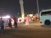 """حادث يدق ناقوس الخطر في الأحساء .. وفاة """"سوداني"""" تحت عجلات """"فان"""""""