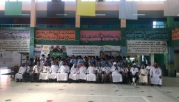 """ابتدائية """"المراح و عبد الله بن المبارك"""" تستضيف أولمبياد الهوايات الكشفية لمدارس قطاع الشمال"""