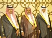 """أسرة """"ناصر القحطاني"""" تحتفي بزفاف أبناءها """"حمد"""" و """"محمد"""""""