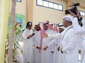 """بحضور """"النجم"""" و""""الدعيج"""" … افتتاح معرض ريادي بمدرسة اليمامة"""