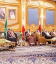 """""""القمة الخليجية الـ40"""" .. بدء وصول قادة ورؤساء وفود دول مجلس التعاون لـ """"الرياض"""""""