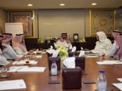 """بالصور … نائب رئيس مجلس """"أمناء قبس"""" …  يستقبل الأستاذ أحمد الفضلي"""