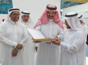 """سمو الأمير """"عبدالعزيز بن محمد"""" يُشيد بتجربة معرض """"جامعة الملك فيصل"""" الأول للكتاب"""