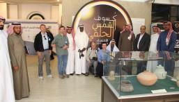 """بالصور… علماء وباحثين يزورون متحف الآثار والفلك و""""الفريدي"""" في استقبالهم"""