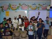 """بالصور .. أكثر من 30 طالب في ورشة """"المزارع الصغير"""" في ابتدائية بن عباس"""