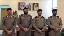 """مدير """"شرطة العديد"""" يقلد عدد من الضباط رتبهم الجديدة"""