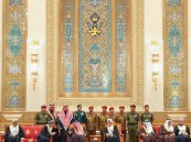 """""""خادم الحرمين الشريفين"""" يقدم واجب العزاء والمواساة في وفاة جلالة السلطان قابوس بن سعيد رحمه الله"""