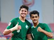 لاعبو المنتخب السعودي الأولمبي يهدون الوطن التأهل لنهائي آسيا