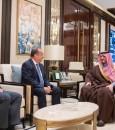 سمو وزير الداخلية يستقبل سفراء المملكة المتحدة والهند وكازاخستان