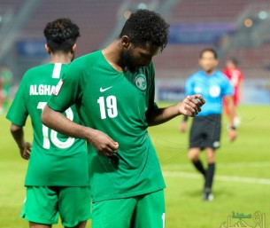 """بالفيديو .. كأس آسيا تحت 23 .. هدف """"خرافي"""" من نجم النصر يقود الأخضر إلى ربع النهائي"""