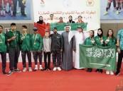 أخضر المبارزة يرفع رصيده إلى 8 ميداليات في البطولة العربية بالبحرين