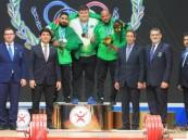 """""""أخضر الأثقال""""… يحصد 14 ميدالية بالتضامن"""
