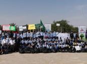 """بالصور… """"إدارة النشاط الطلابي"""" تطلق برنامج المشروع الكشفي لنظافة البيئة"""