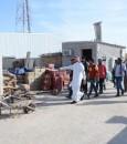 """بالصور… مُصادرة 45 طنًّا من الحطب في """"أسواق الأحساء"""""""