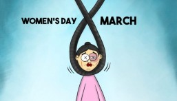 """""""يوم المرأة العالمي""""… في كاريكاتير """"الحبارة"""""""