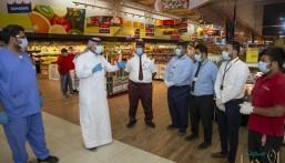 بالصور.. فرق أمانة الأحساء الرقابية تقف على أكثر من 16 ألف منشأة تجارية