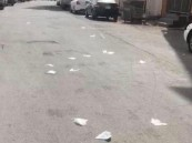 """لا تنثر أشلاء """"كورونا"""" في الطرقات !!"""
