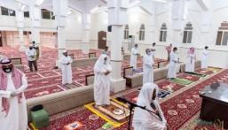شاهد بالصور.. هكذا فتحت جوامع المملكة ومساجدها أبوابها أمام المصلين بجميع المناطق