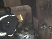 """""""غسالة ملابس"""" تُشعل حريقًا بأحد الشقق السكنية في الأحساء"""