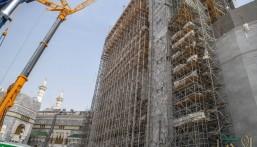 """بالصور.. """"رئاسة الحرمين"""" تصدر رخص أعمال مشاريع التوسعة السعودية الثالثة"""