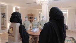 بالصور في الأحساء .. جولات مكثفة لمتابعة تقيد صوالين الحلاقة والمراكز النسائية بالاحترازات الوقائية